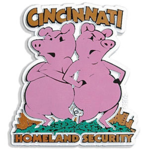 Cincinnati Homeland Security Magnet