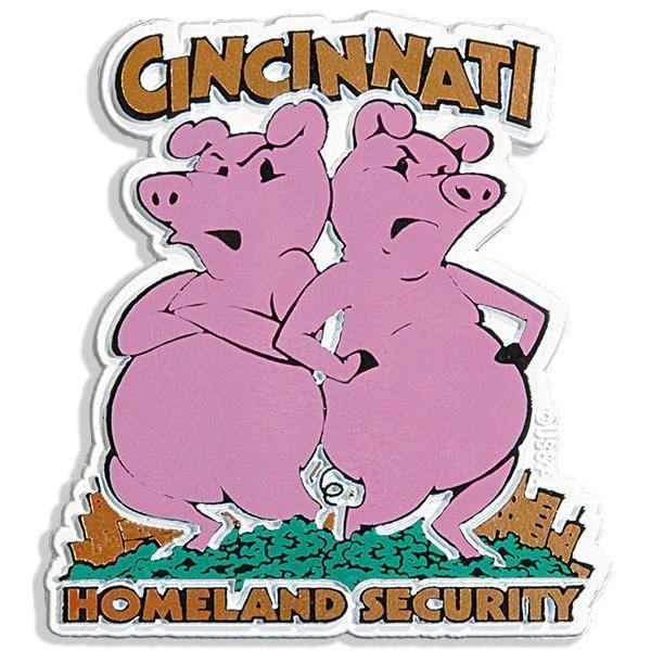 Cincinnati Homeland Security Magnet