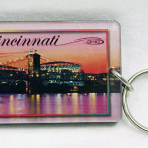 Cincinnati Key Ring