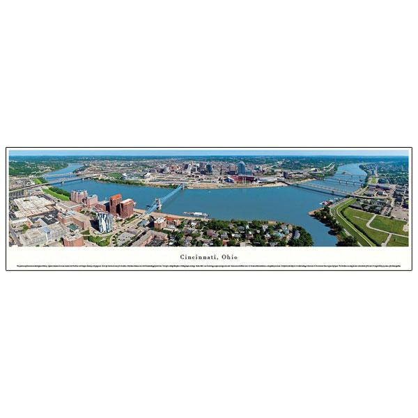 Cincinnati Day Skyline Photograph
