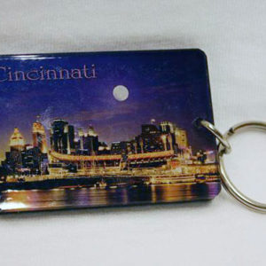 Cincinnati Skyline Key Ring