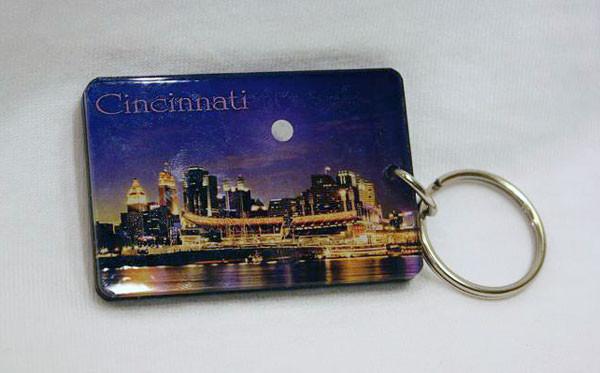 Cincinnati Skyline Key Ring