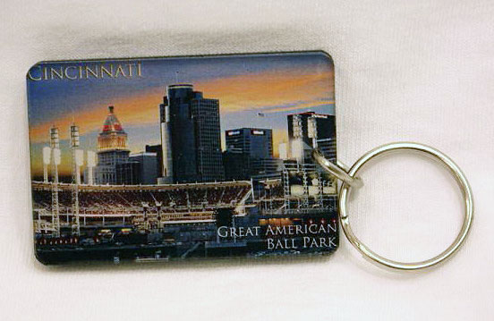 Great American Ballpark Key Ring