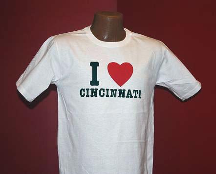 I Heart Cincinnati T-Shirt