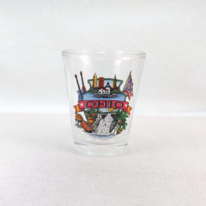 Ohio Landmarks Shot Glass