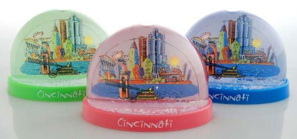 Cincinnati Snow Globes