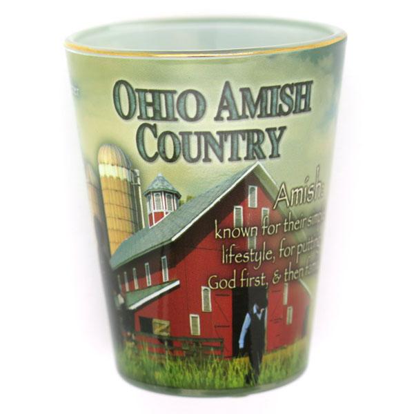 Amish Shot Glass