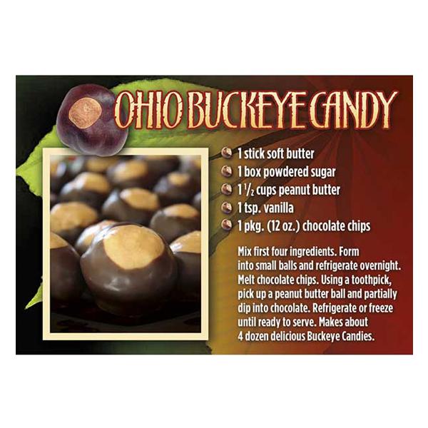Buckeye Candy Magnet