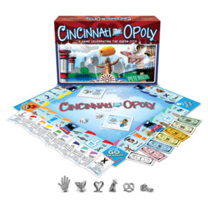 Cincinnati-Opoly Board Game