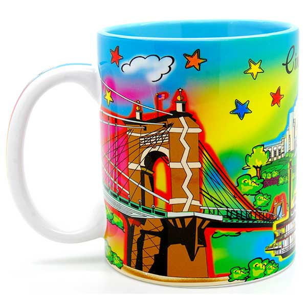 Cincinnati Watercolor Mug