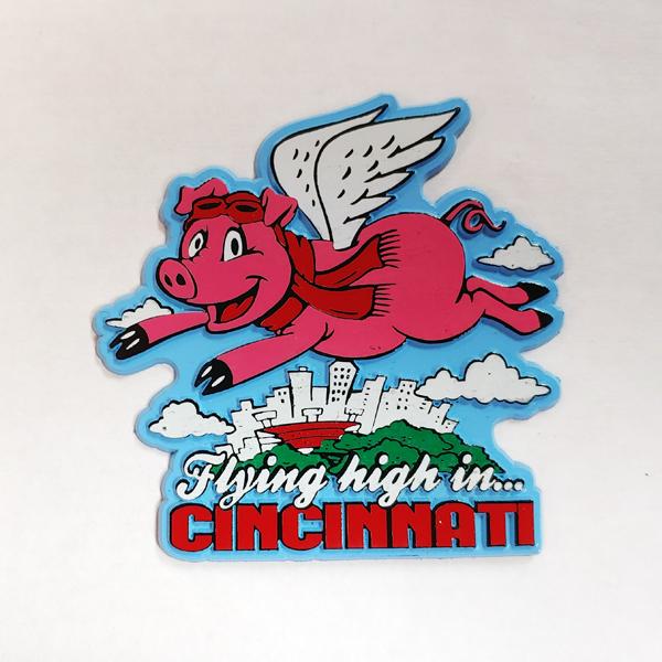 Flying High in Cincinnati Magnet