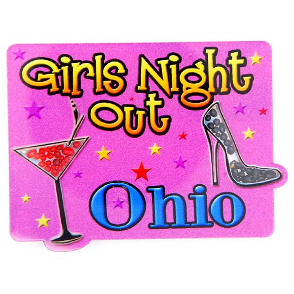 Girls Night Out Ohio Magnet