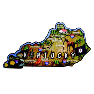 Kentucky Map Magnet