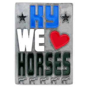 Kentucky We Love Horses Magnet