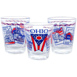 Ohio Images Shot Glass