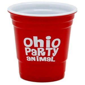Ohio Party Animal Shot Glass