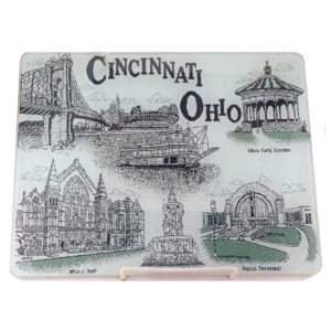 Cincinnati Glass Cutting Board