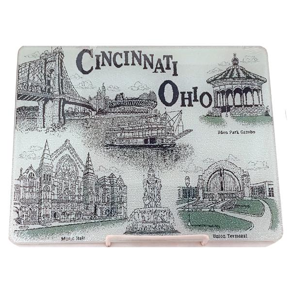 Cincinnati Glass Cutting Board