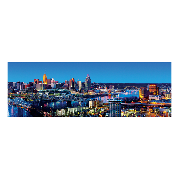 Cincinnati Panoramic Puzzle