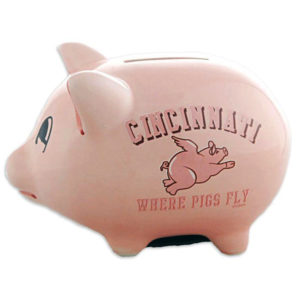 Cincinnati Piggy Bank
