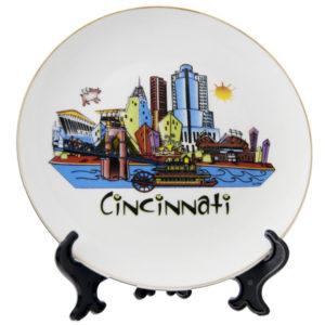 Cincinnati Souvenir Plate
