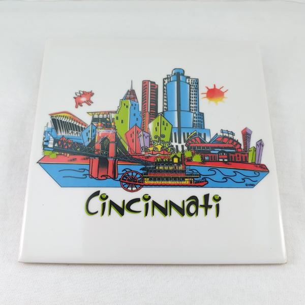 Cincinnati Souvenir Trivet