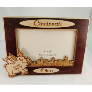 Flying Pig Picture Frame