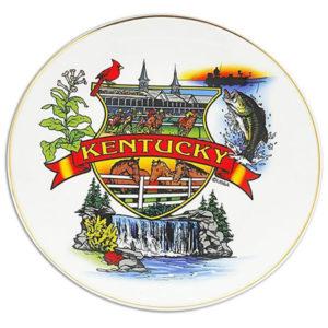 Kentucky Souvenir Plate