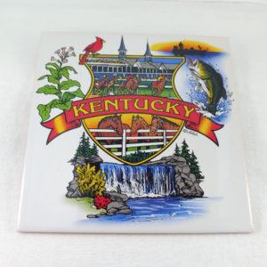Kentucky Souvenir Trivet