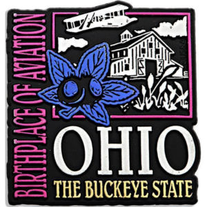 Ohio Metallic Rubber Magnet