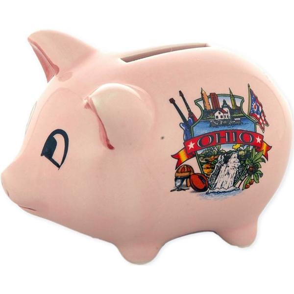 Ohio Piggy Bank