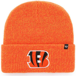 Bengals 47 Brand Brain Freeze Cuffed Knit Hat