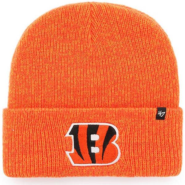 Bengals 47 Brand Brain Freeze Cuffed Knit Hat