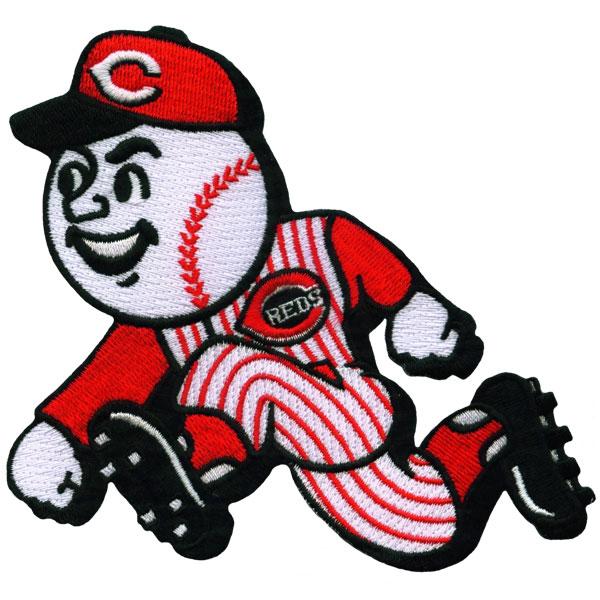 Cincinnati Reds Mascot Running Man Patch