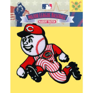 Cincinnati Reds Mascot Running Man Patch