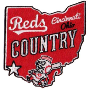 Cincinnati Reds Country Patch