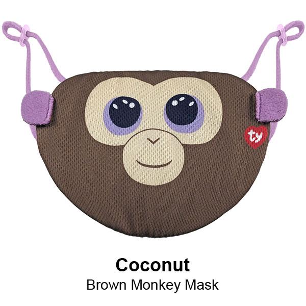 Beanie Boo Mask Coconut
