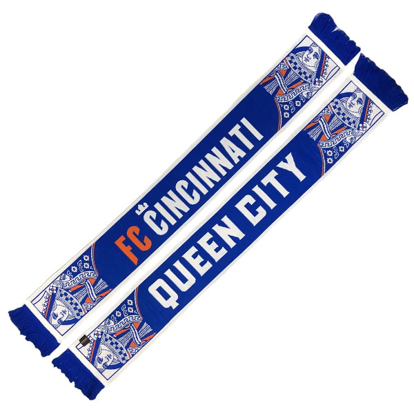 FC Cincinnati Scarf Queen City