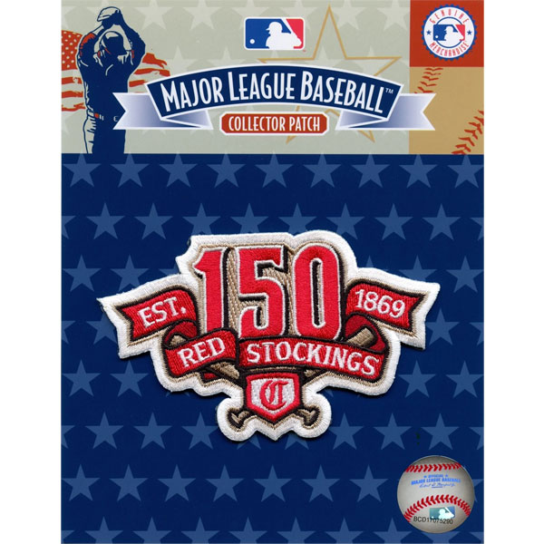 Reds 150th Anniversary Patch