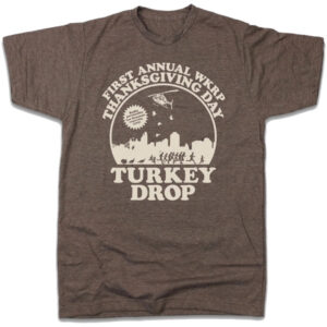 WKRP Turkey Drop T-Shirt