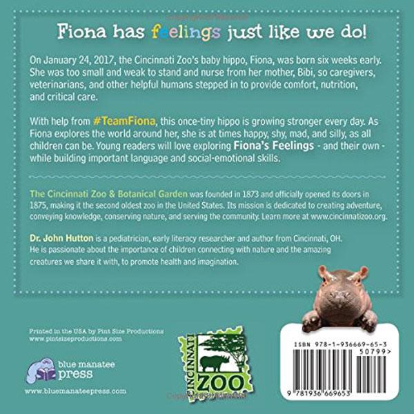 Fiona's Feelings Board Book Back